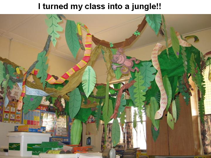 Classroom Decoration Jungle Theme ~ Help us our community s disappearing licensed for non